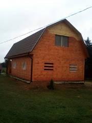 Дом-Баня из бруса готовые срубы с установкой-10 дней недор.Слоним