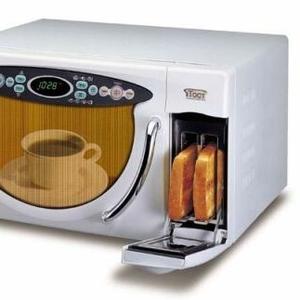 Микроволновая печь с тостером