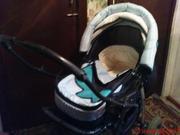 Продаётся коляска детская джип,  сине-голубая.